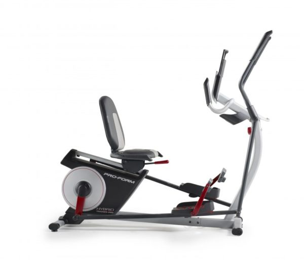 Elliptical Bike That Moves: Proform Hybrid Pro 7 Trainer (Cross Trainer & Recumbent