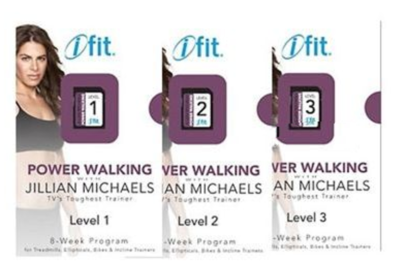 iFit SD Power Walking Levels 1, 2 & 3 Pack - For iFit SD Compatible  Equipment