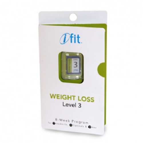 iFit SD Card Weight Loss Level 3 - For iFit SD Compatible Equipment